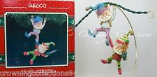 Enesco Twinkle and Sprinkle Ornament Wee Tree Trimmers North Pole Village Elf #8