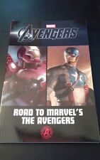 AVENGERS, ROAD TO MARVEL'S THE AVENGERS, SOFT COVER, FREE SHIPPING