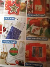 Cross stitch chart Natale 50 motivi MINI idee regalo