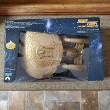 Star Trek The Next Generation 7th Anniversary Gold Enterprise D 1993 New Openbox