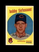 1959 Topps Baseball #501 Bobby Tiefenauer (Indians) NM  #AAB123