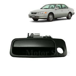 For 97-01 Toyota Camry Outside Door Handle Black ( Non Painted ) Front Left