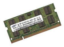 Memoria RAM 2gb notebook HP ELITEBOOK 2530p + 2730p-ddr2 Samsung 800 MHz