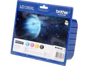 Original Brother Value Kit LC1280 XL Blister Pack MFC-J6510 1x2400p BK+3x1200p