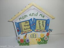Mom And Me House Smiley Face Flowers Pop-Out Art Mother Picture Frame (Lot Of 4)
