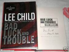 BAD LUCK AND TROUBLE by LEE CHILD **SIGNED**