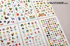 #64 I am sticker cute cartoon pvc stickers notebook diary deco 6 sheets/set