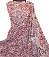 Large, Wool, Jamavar Shawl. Legendary Luxury From India. Paisley Jamawar Stole