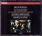 BRENDEL: BEETHOVEN Piano Concerto 1 2 3 4 5 LEVINE 3CD Alfred James Live 1983