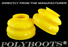2x Polyboots Tuning Polyurethane Ball Joint Dust Boots 20x42x30 mm Yellow