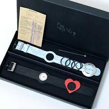 DeJa Vu Watch Set, Love Heart Analogue in BOX Working Well.Designer Teen