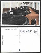 Old Iowa Postcard - Keokuk - Power Plant Generator Room