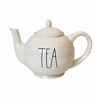 """RAE DUNN """"TEA"""" TEAPOT Ceramic With Lid Artisan Collection by Magenta Brand New"""