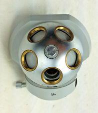 Microscope Part Zeiss Germany 0.8x Turret Nosepiece Head Optics