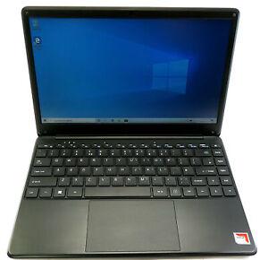 """GeoBook 4 Laptop A9-9420 4GB RAM 128GB SSD 14.1"""" Display Win10"""