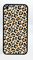 LEOPARD PRINT ZOO BLACK PHONE CASE COVER FOR IPHONE 7 6S 6 PLUS 5C 5S 5 4S 4