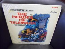 Soundtrack Heroes of Telemark Malcolm Henry Arnold LP Mainstream EX IN Shrink
