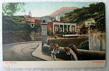 POSTCARD MEN ON ROAD CARRYING PACKS BAGS CARGO GUANAJUATO MEXICO #44sf