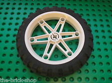 Roue LEGO TECHNIC wheel 2903 + tyre 2902 / Set 8857 8291 8838 9785 9786 9609 ...