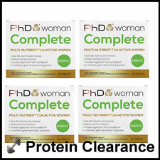 PhD Woman Complete Multi Vitamin & Minerals 4 x 60 Tablets Best Before 03/2018