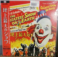 The Greatest Show On Earth - Japanese Laserdisc + OBI - RARE