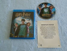 HARRY POTTER AND THE PRISONER OF AZKABAN (Blu-Ray 2007, 1 Disc) Very Good Cond