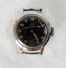 Armbanduhr Damenuhr Uhr Vintage Emes Monorex Antimagnetic analog schwarz