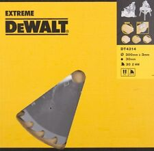 DeWalt 300mm 30T Wood Saw Blade - DT4314