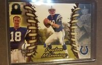 1998 Pacific Omega Peyton Manning Rookie Card RC Indianapolis Colts