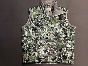 Sitka Gear Fanatic Vest Elevated Forest L