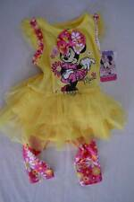 MINNIE MOUSE Disney 2pc Set: Top&Leggings-Toddler Girls 24 Months-Yellow-NWT