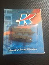 Go Kart - Axle Key 3 Peg 8mm x 59mm x 7.4mm Pegs - 50mm Axle - Pkt 4 - NEW