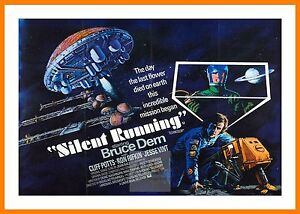 Silent Running 2    Hippy Culture Movie Posters Classic Films