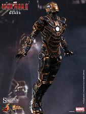 "Hot Toys Iron Man 3 MARK XLI 41 BONES 12"" Action Figure 1/6 Scale MMS251Skeleton"