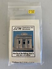 SLM Structures Hartford Building Association HO Scale Model Kit 11025 NIP RARE