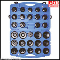 BGS - Oil Filter Cup Set - Multi Manufacturer Fitment - 30 Pcs Set - 1039