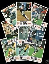 Detroit Lions Original Set Modern (1970-Now) Football Cards