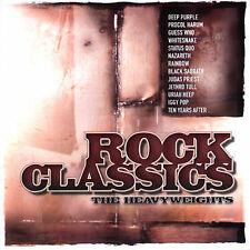 Rock Classics: The Heavyweights by Various Artists (CD, Sep-1999, Repertoire)
