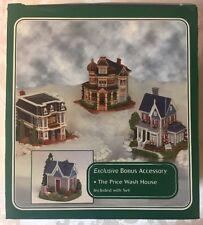 Americana Collection Liberty Falls Village Set of 4 inc. Price Wash House