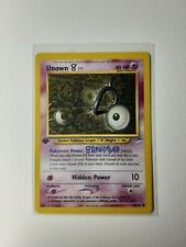 Pokemon Tcg - Neo Destiny - Unown (V)  - 1st Edition - 89/105