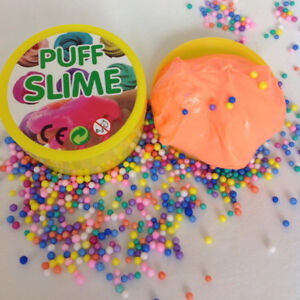 Fluffy Puff Slime Funtok Foam 100g Can Toy For Kids Stress Relief UK Seller f70
