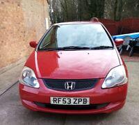 Honda Civic Sport 1.6L I-VTEC 3dr Petrol 2003
