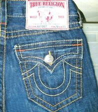 *HOT Men's TRUE RELIGION @ JOEY BIG T FLARE BOOTCUT DARK Jeans 29x33 (Fit 29x32)