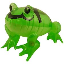 Children Novelty Toy Inflatable blow up Green Frog 39cm Kids Party Fun