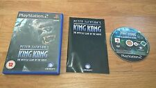 ***King Kong ~ The Official Game Of The Movie - PS2 PlayStation 2***