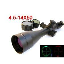 New Style Hunting Scope w/ Mounts 4.5-14X50 M1 Mil-dot Illuminated Riflescopes