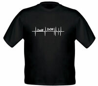 Zoom Zoom Car Heartbeat Lifeline gift Unisex Kids Tee Girl Boys Youth T Shirt