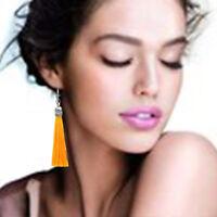 HOT Sale Fashion Women Boho Fringe Tassel Drop Dangle Hook Earrings Jewelry Gift