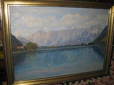 RANZONI Hans von, *1868 Lago di Misurina Misurinasee