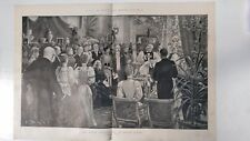 The Royal Christening At White Lodge: 1894 Black & White Magazine Pages
